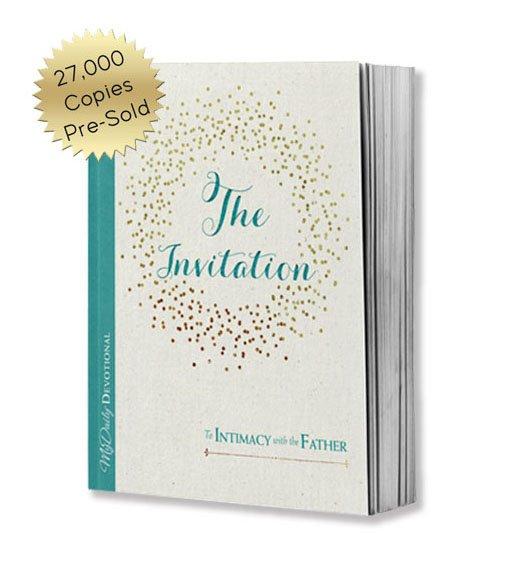 The Invitation book, 27,000 copies pre-sold.